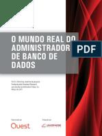 o Mundo Real Do Administrador de Banco de Dados White Paper 24864