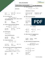 Funciones - Dominio y Rango