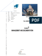 Volume 7 Management Documentation