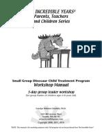 Small Group Dina Training Handouts