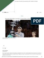 Wozniacki Bate Halep, Conquista 1º Grand Slam e Assume Liderança Na WTA - 27-01-2018 - UOL Esporte