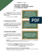 Funções Sintáticas (CD CI CO)