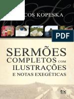 Sermoes Completos Com Ilustracoes e Notas Exegeticas