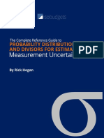 Probability Distributions and Divisors for Estimating Measurement Uncertainty