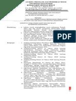 Format Keputusan Kriteria Pasien Yang Membutuhkan Perencanaan Pemulangan Pasien