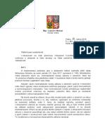 Odpoved MV - smernice EU o zbranich
