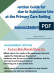 SUD Management Guide