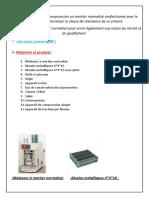 l'Échantillonnage d'Un Granulat TP 5