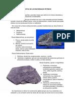 Cuestión Costructiva de Los Materiales Pétreos