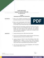 SK DIR PT Intraco Penta Tbk Perihal Pengangkatan Sekretaris Perusahaan