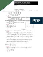 Tercer Parcial Matematica i Solucionario