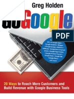 Go Google 20 Ways to Reach More Customers