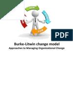 Burke-Litwin Change Model