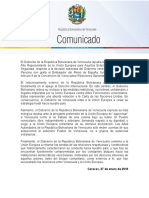 Gobierno-venezolano-se-apega-al-respeto-del-Derecho-Internacional-y-repudia-declaración-de-Alta-representante-de-la-UE