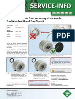 INA Over Drive Pulley System