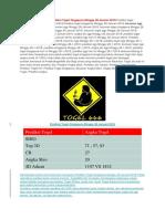 Prediksi Togel Singapura Minggu 27 Januari 2018 | Prediksi Togel 666 Hari Ini