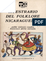 Muestrario Del Folklore Nicaragüense Para Editar)