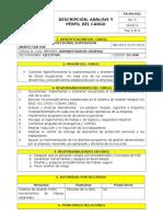 Dc-008 Descripcion Cargo Profesional-supervisor-Inspector Hse
