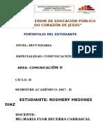 Portafolio Comun. II
