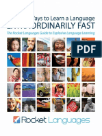 Ordinary Ways to Learn a Language Extraordinarily Fast. a Guide to Explosive Language Learning.