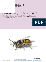 Owasp Top 10-2017 Template Din-A4