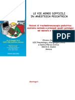 Le Vie Aeree difficili in anestesia pediatrica