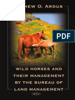 Ardus - Wild Horses and Their Management