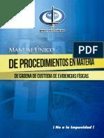 Manual de Evidencia Cadena de Custodia