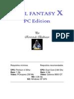 Manual de Instalación de Final Fantasy X