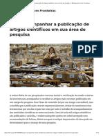 Como Acompanhar a Publicação de Artigos Científicos Em Sua Área de Pesquisa – Bibliotecários Sem Fronteiras