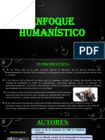 enfoque humanistico