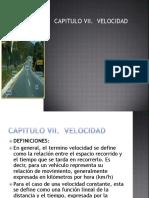 Clase Velocidad (Ingenieria Del Transito)