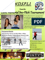 Zuvic Memorial Sno Pitch tournament at Port Colborne 19th Annual SportsFest