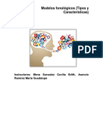 Modelos fonológicos