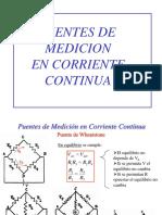 Me2 2017 Teoria Puentes de Medicion en Cc