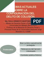 Colusion - Problematicas Actuales - Seminario Corrupcion