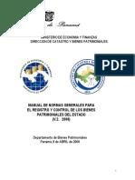 Manual de Bienes Patrimoniales
