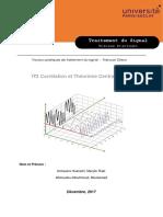 TP2 Correlation Traitement du signal