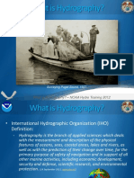 what is hydrography