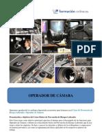 010-Operador de Camara