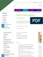 Recipe_ Apple Sponge Squares Recipe