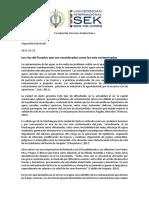 Los Rios Mas Contaminados Del Ecuador