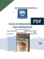 Proyecto de Franquicias Picanteria Marquitos