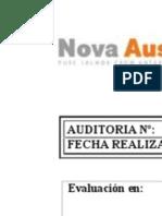 Auditoria N°1 -2017