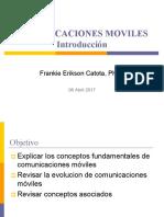 Comunicaciones Moviles Clase 1