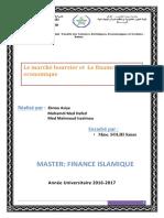 Le Marché Boursier Et Le Financement Économique
