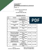 Examene an II Master Informatica Iarna 2016