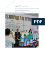 ABBS Borong Piala Di Ajang MBS 2018 Tingkat Nasional
