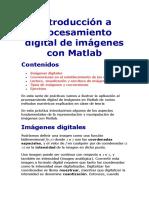 Introducción a Procesamiento Digital de Imágenes Con Matlab