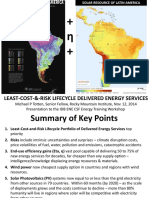Idb Presentation by Michael P Totten on Solar & Wind Power and Efficiency, Slides 11-11-2014